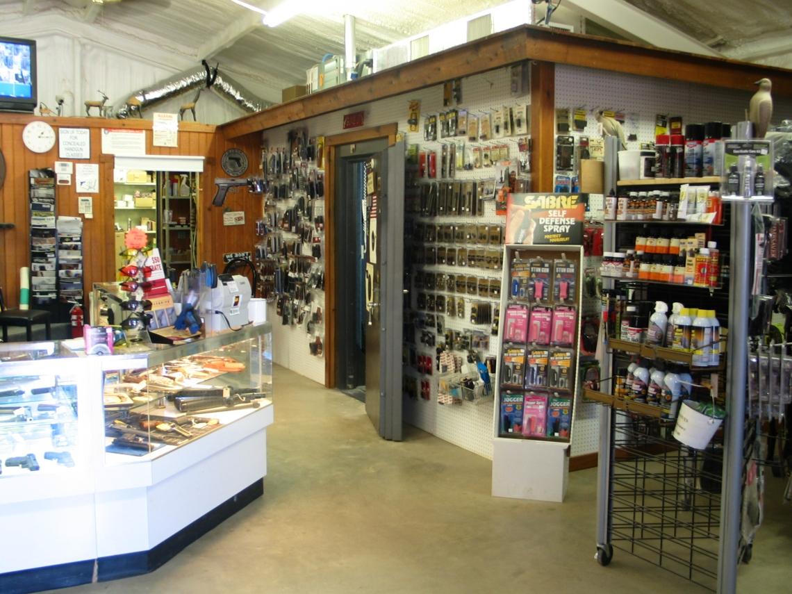 Gun Shak store front